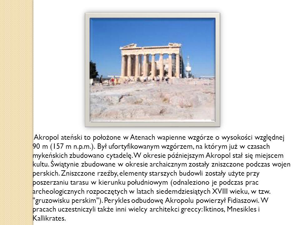 Z Akropolu roztacza się bardzo ładna panorama miasta.