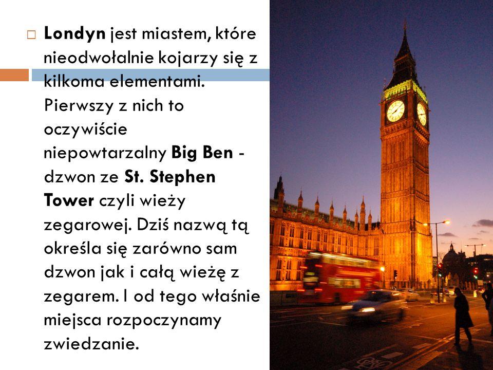  Londyn jest miastem, które nieodwołalnie kojarzy się z kilkoma elementami.