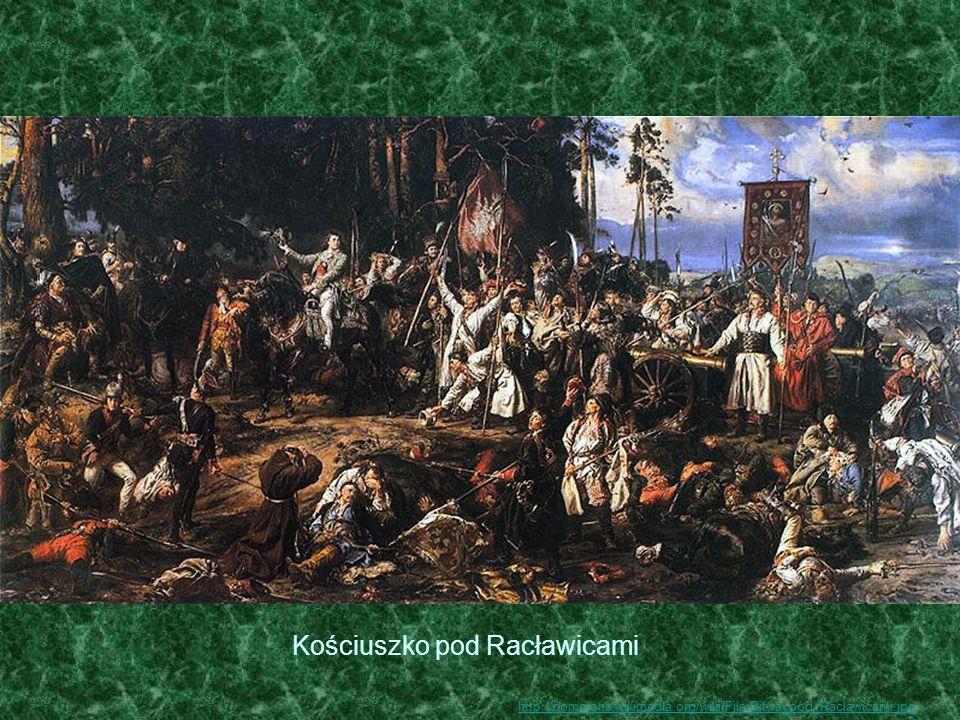 Kościuszko pod Racławicami http://commons.wikimedia.org/wiki/File:Bitwa_pod_Raclawicami.jpg