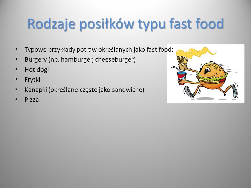 Najbardziej znane sieci fast food w Polsce