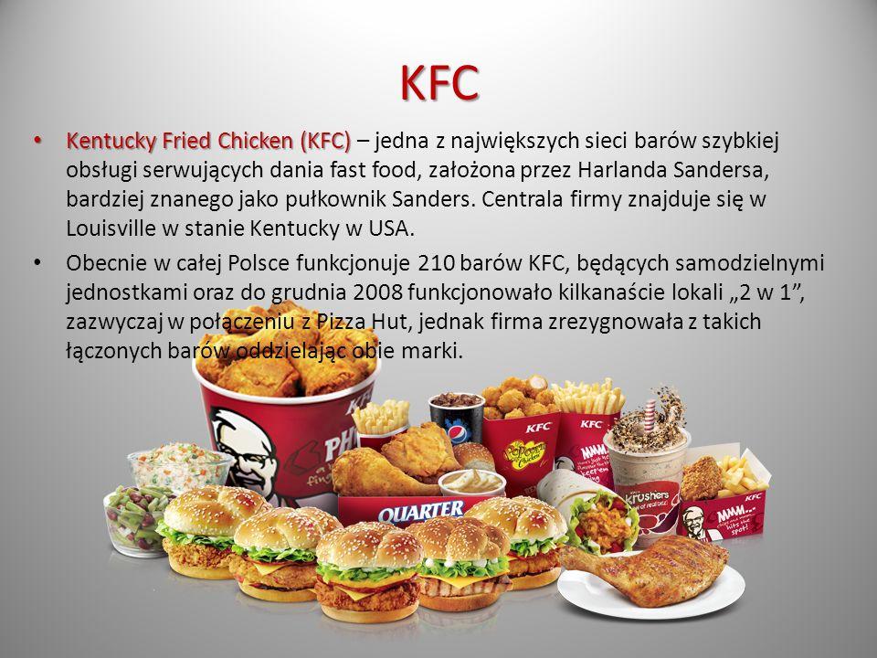 Czynniki mające wpływ na wybór żywności fast food (wśród grupy młodzieży)