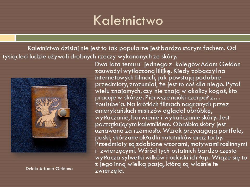 Ciekawa osobowość Imię i nazwisko: Adam Gełdon Zawód: Informatyk Studia: SGGW w Warszawie Kierunek: Leśnictwo Miejsce pracy: Nadleśnictwo Spychowo Lata pracy: od 2010r.