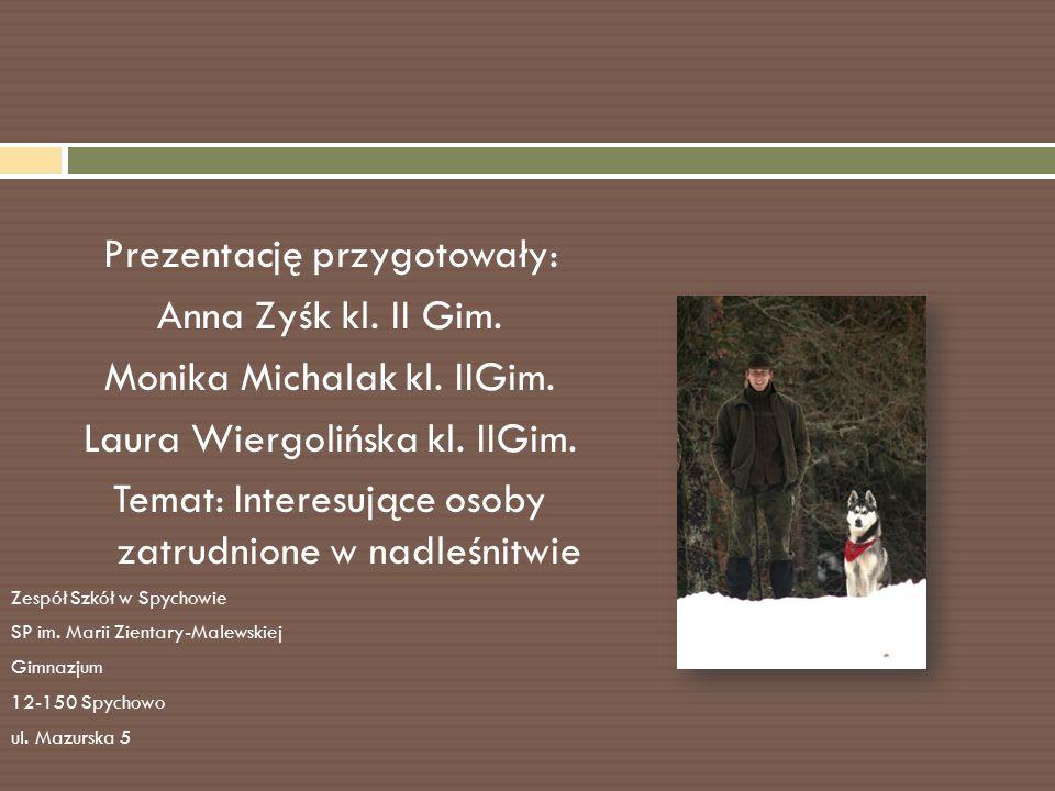 Prezentację przygotowały: Anna Zyśk kl.II Gim. Monika Michalak kl.