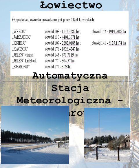 Łowiectwo Automatyczna Stacja Meteorologiczna - Wichrowo