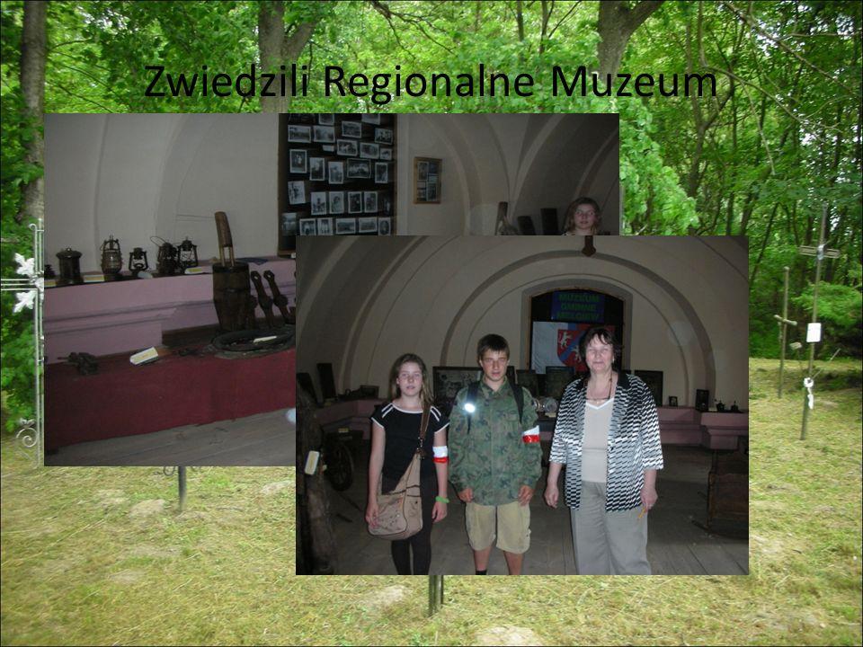 Zwiedzili Regionalne Muzeum