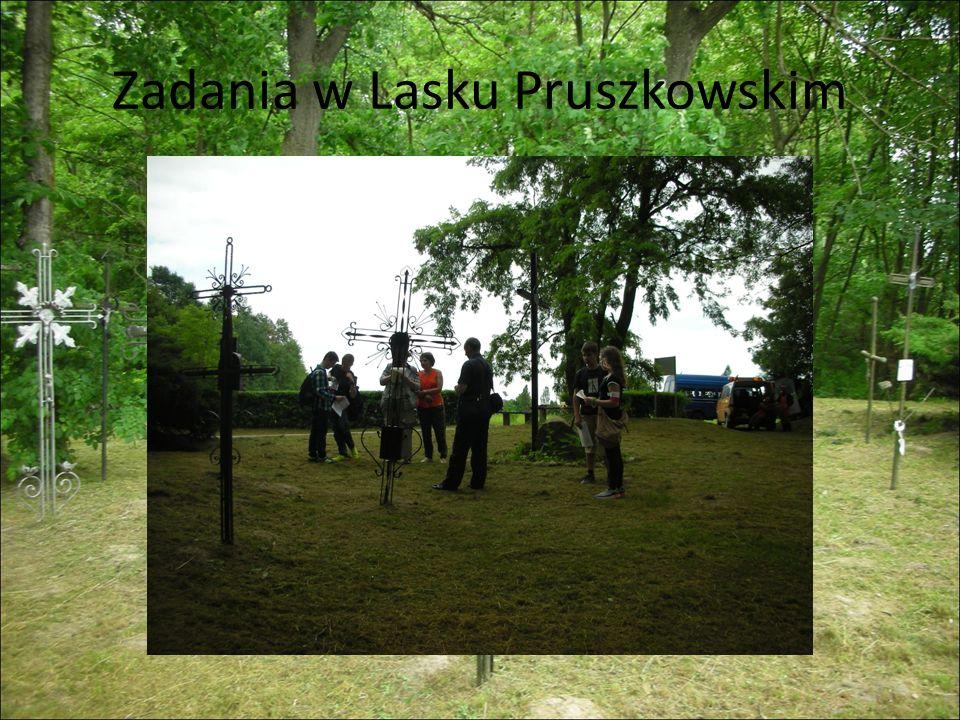 Zadania w Lasku Pruszkowskim