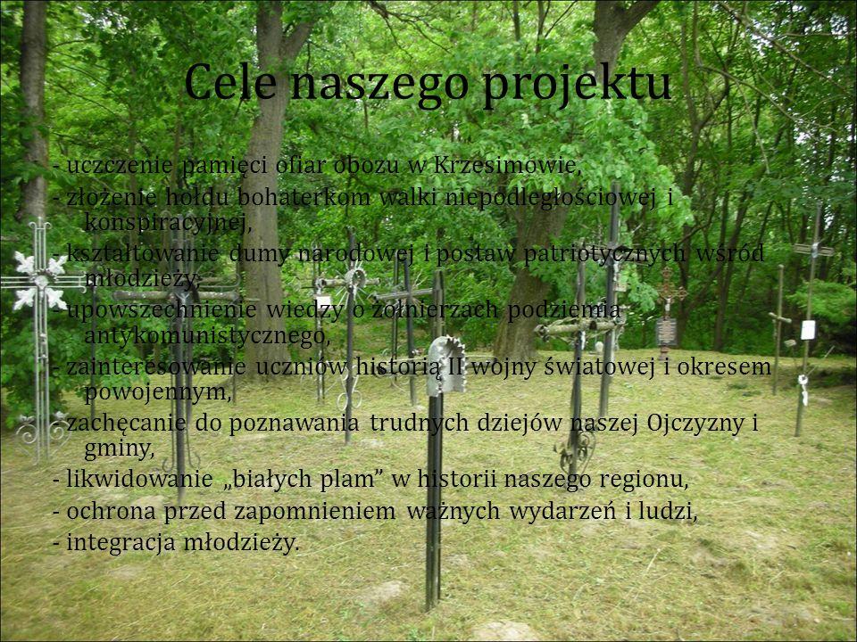 W tle widzimy wystawę udostępnioną nam na czas gry praz IPN Oddział Lublin.