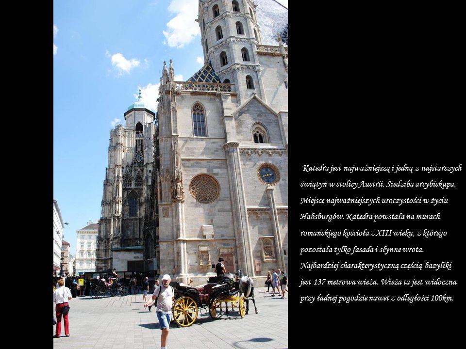 Katedra św. Szczepana w Wiedniu (Zdjęcie z Internetu By Andrew Bossi)