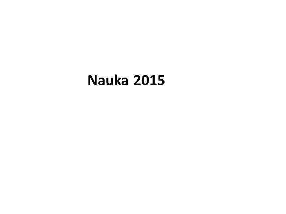 Nauka 2015