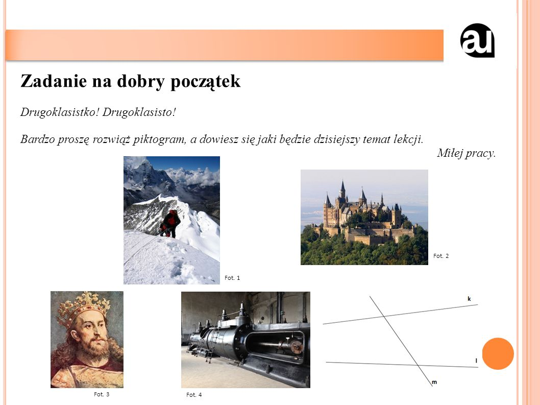 Cele lekcji w języku ucznia: utrwalisz umiejętność rozpoznawania i zastosowania maszyn prostych nauczysz się rozwiązywać zadania rachunkowe o dowolnym stopniu trudności