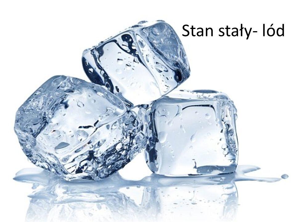 Stan stały- lód