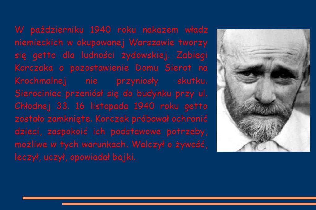 W październiku 1940 roku nakazem władz niemieckich w okupowanej Warszawie tworzy się getto dla ludności żydowskiej.