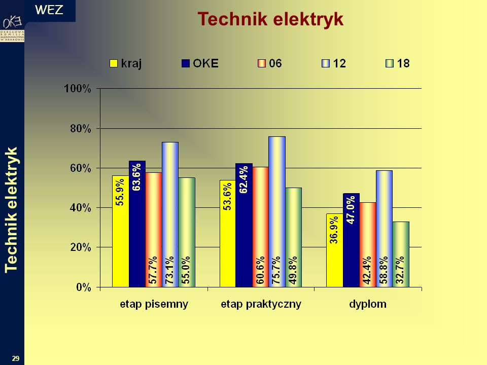 WEZ 29 Technik elektryk