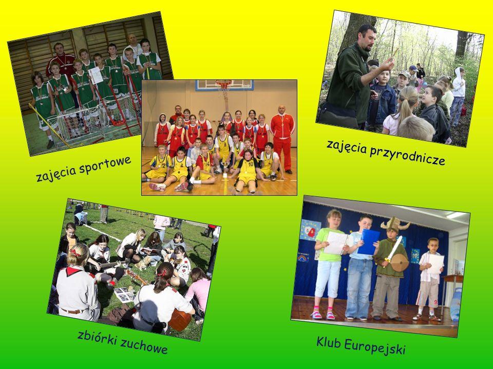 zajęcia sportowe zbiórki zuchowe zajęcia przyrodnicze Klub Europejski