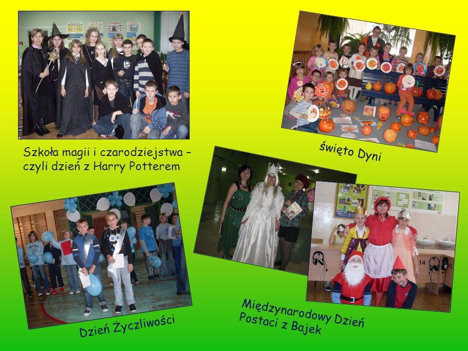 święto Dyni Szkoła magii i czarodziejstwa – czyli dzień z Harry Potterem Dzień Życzliwości Międzynarodowy Dzień Postaci z Bajek