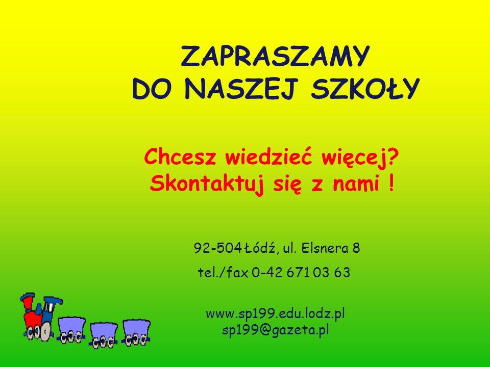 Chcesz wiedzieć więcej. Skontaktuj się z nami . 92-504 Łódź, ul.