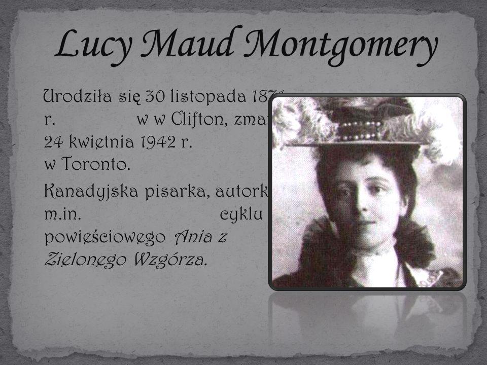 Urodziła si ę 30 listopada 1874 r. w w Clifton, zmarła 24 kwietnia 1942 r.
