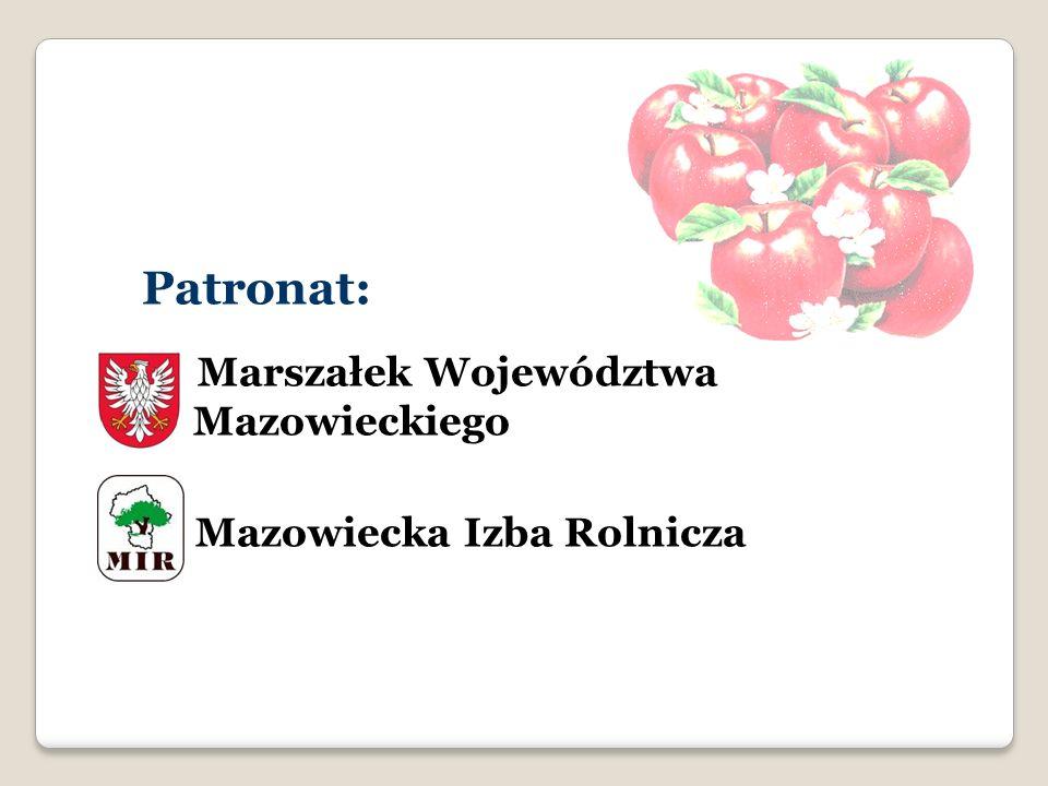 Patronat: Marszałek Województwa Mazowieckiego Mazowiecka Izba Rolnicza