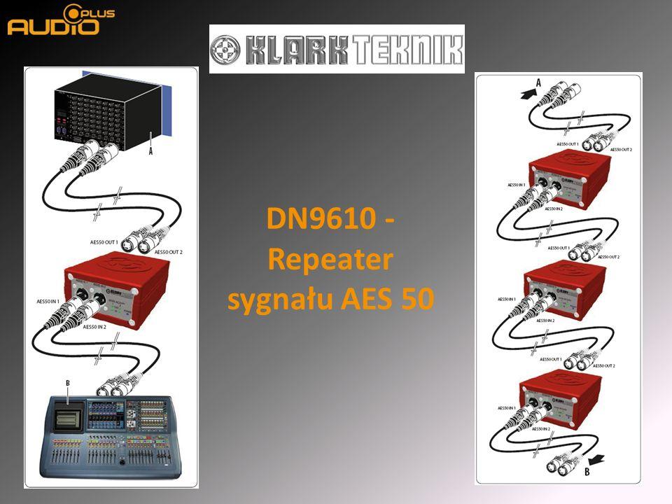 DN9610 - Repeater sygnału AES 50
