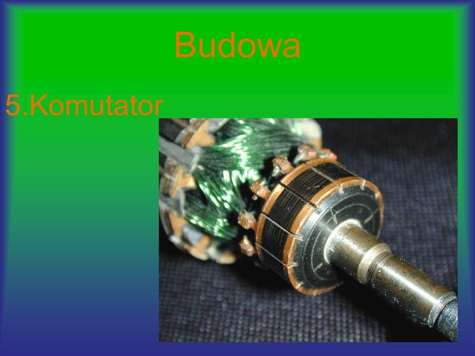 Zasada działania Prądnice są urządzeniami, w których energia kinetyczna zamieniana jest w energię elektryczną.