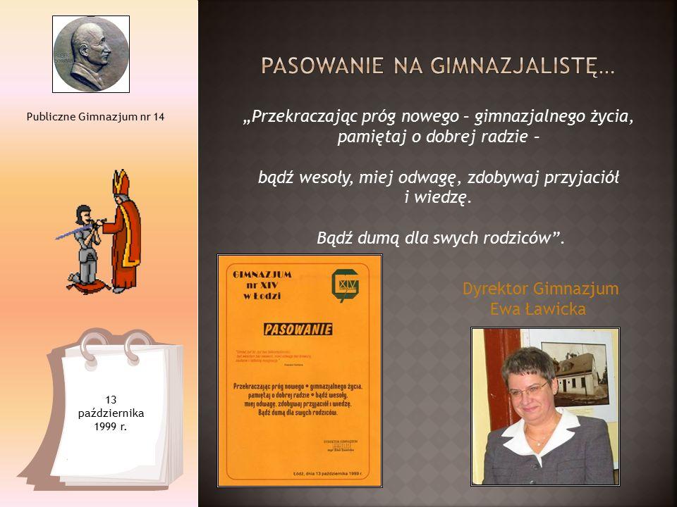 Piąte spotkanie Klubu Szkół Tolerancji - wręczenie Medali Tolerancji nauczycielce Gimnazjum nr 14 – Annie Tomaszewskiej i Danucie Raczko, prezes Fundacji Młodzieżowej Przedsiębiorczości.