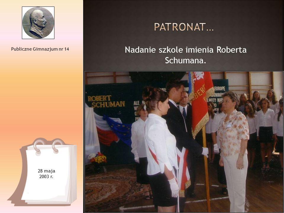 Publiczne Gimnazjum nr 14 1999-2010 Kilkukrotne zdobycie I miejsca w Łodzi w Mistrzostwach Szkół Gimnazjalnych w piłce ręcznej dziewcząt.