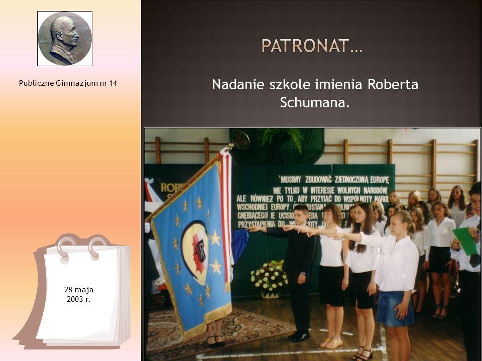 Szóste spotkanie Klubu Szkół Tolerancji. Publiczne Gimnazjum nr 14 16 listopada 2007 r.