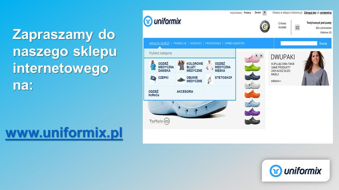 Zapraszamy do naszego sklepu internetowego na: www.uniformix.pl