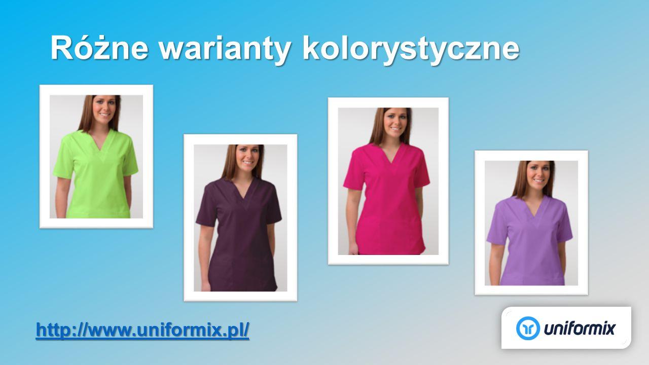 Różne warianty kolorystyczne http://www.uniformix.pl/