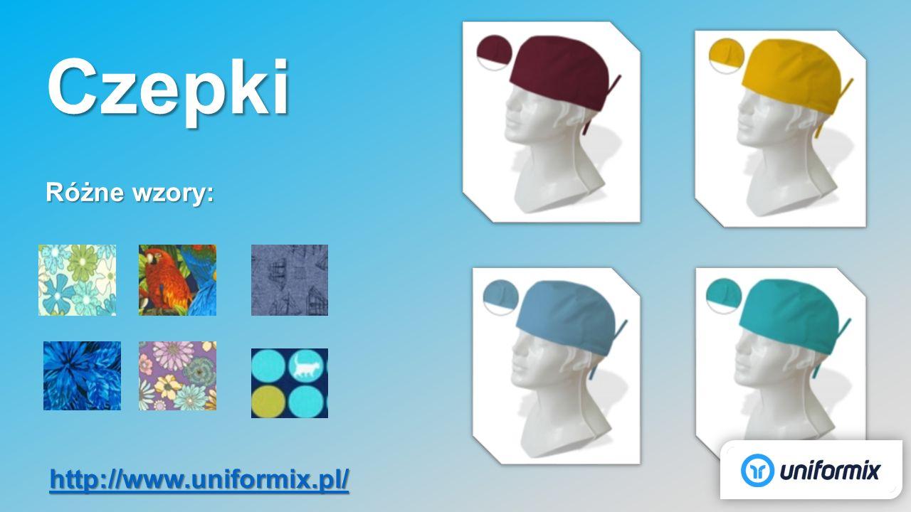 Czepki Różne wzory: http://www.uniformix.pl/