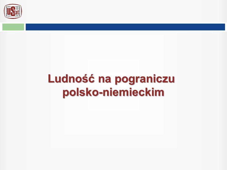 Ludność na pograniczu polsko-niemieckim