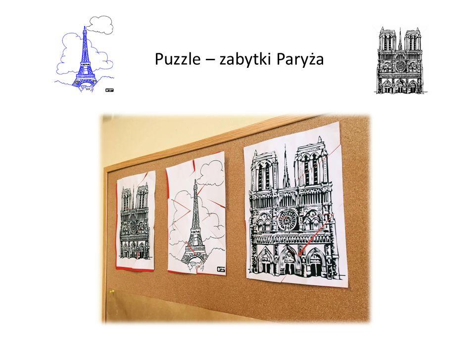 Puzzle – zabytki Paryża