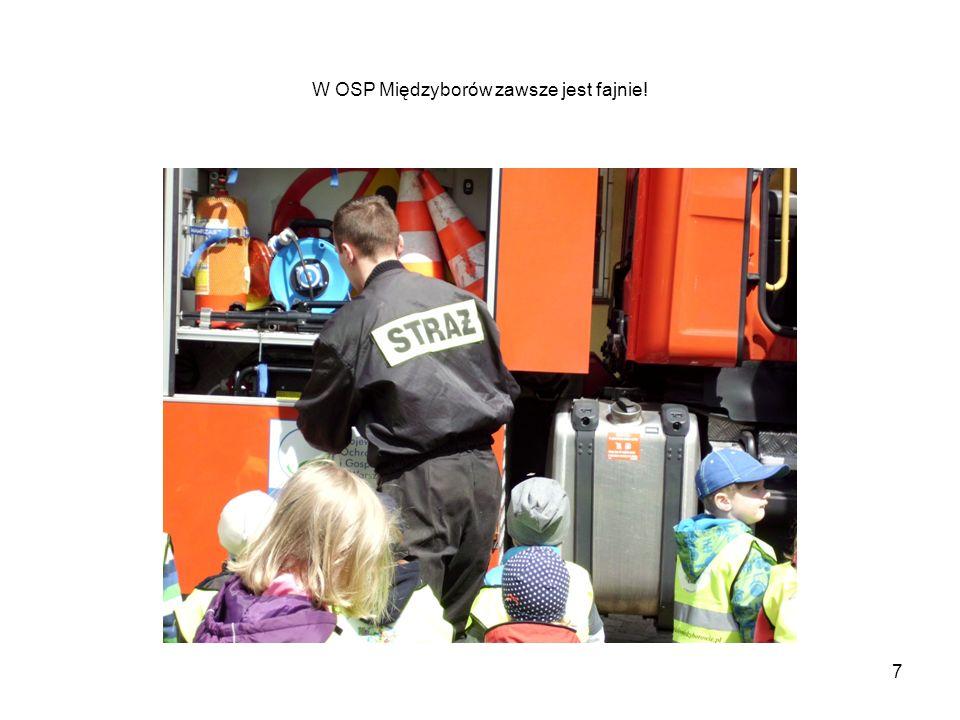 W OSP Międzyborów zawsze jest fajnie! 7