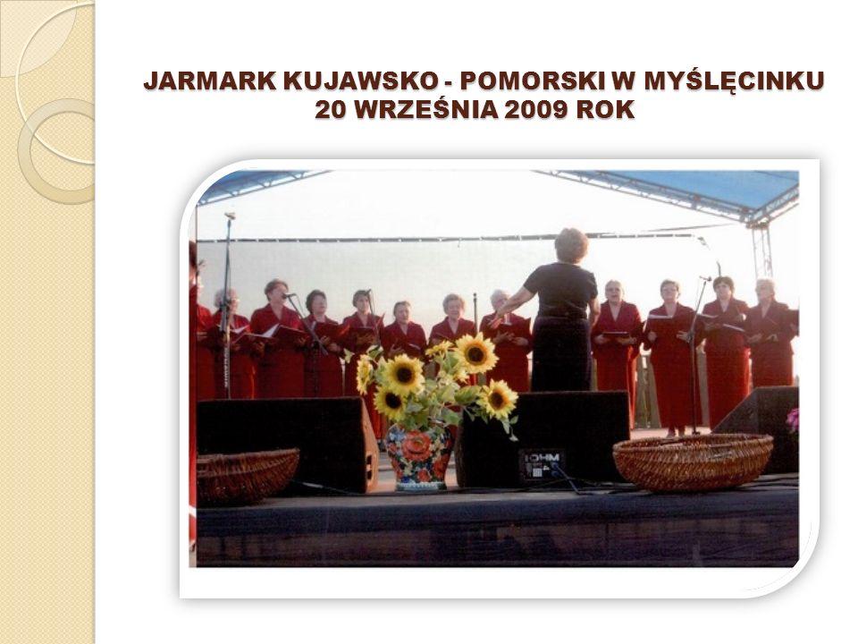 IV PRZEGL Ą D POLSKIEJ PIEŚNI PATRIOTYCZNEJ I ŻOŁNIERSKIEJ 16 MAJA 2009 ROK W WITOSŁAWIU GMINA MROCZA