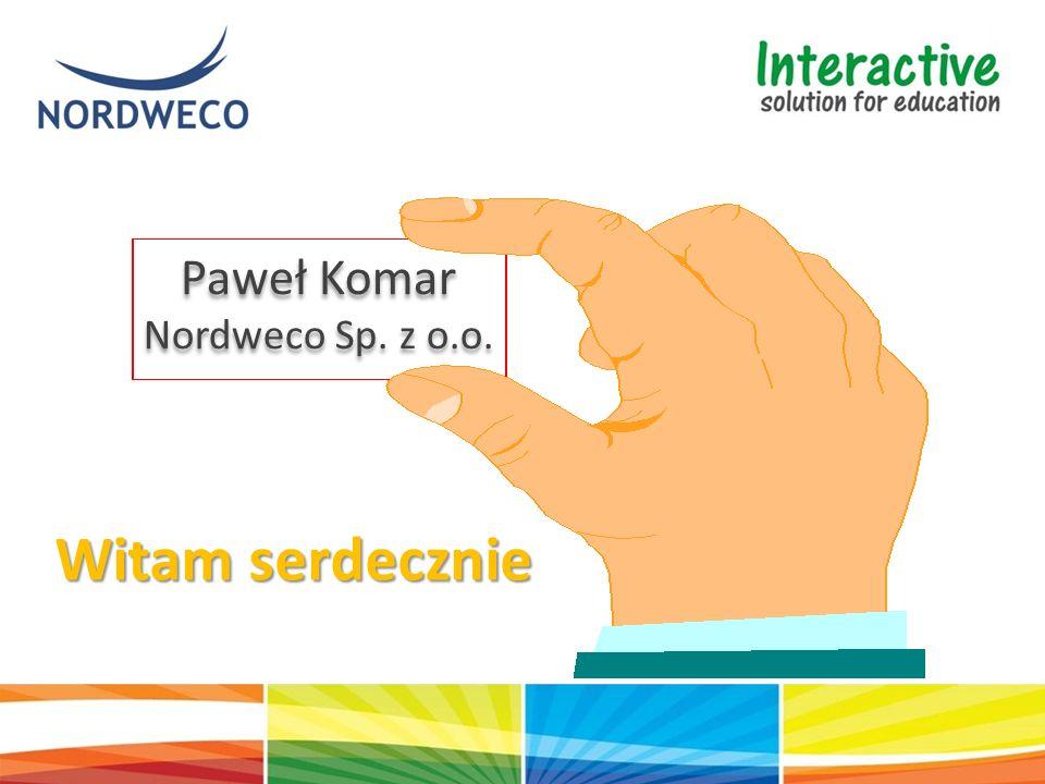 Paweł Komar Nordweco Sp. z o.o. Paweł Komar Nordweco Sp. z o.o. Witam serdecznie