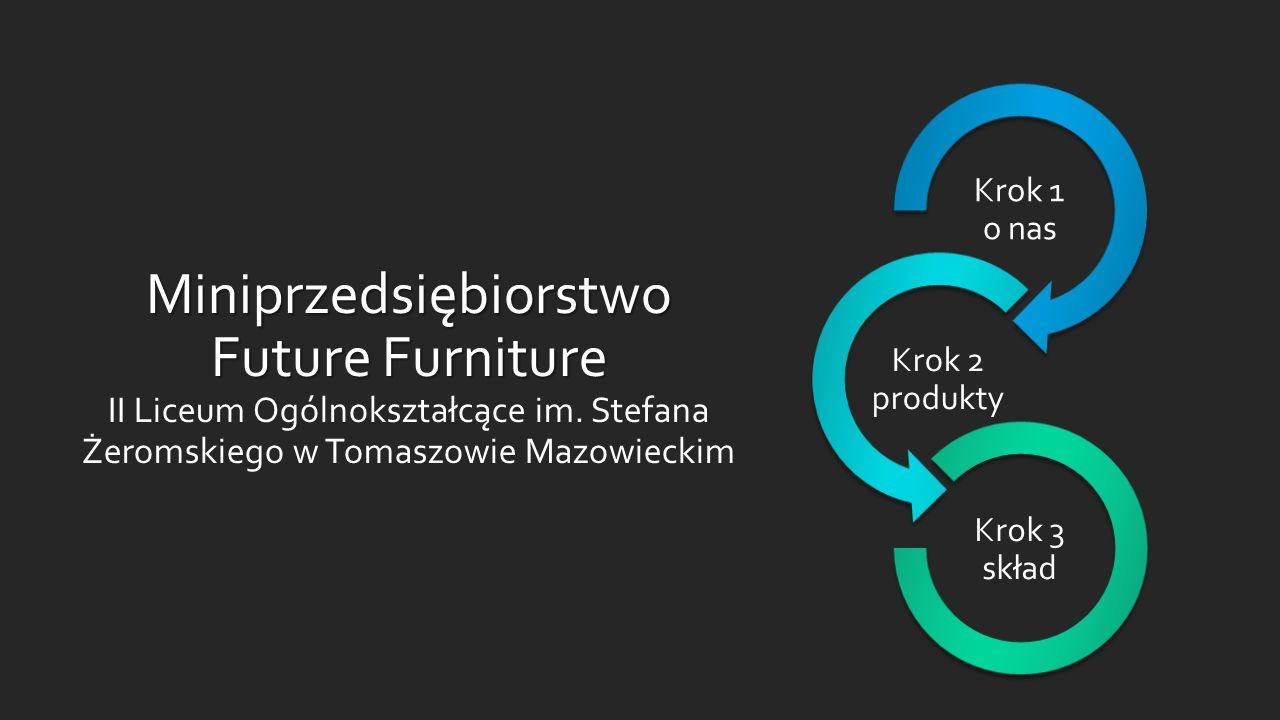 Miniprzedsiębiorstwo Future Furniture Miniprzedsiębiorstwo Future Furniture II Liceum Ogólnokształcące im. Stefana Żeromskiego w Tomaszowie Mazowiecki