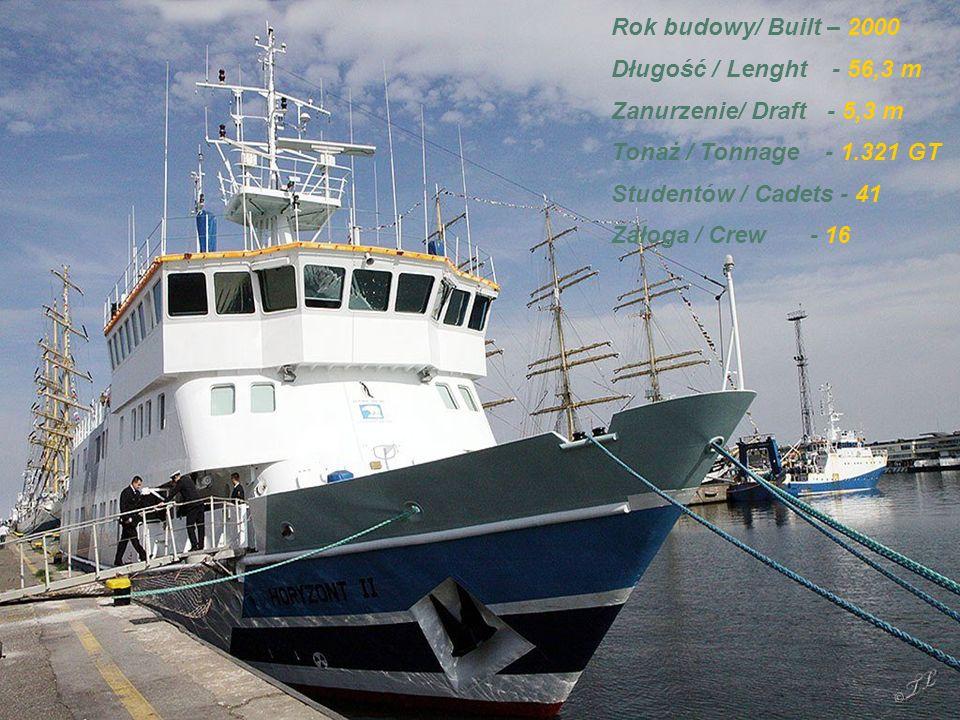 MS HORYZONT II Statek szkolny Akademii Morskiej w Gdyni.