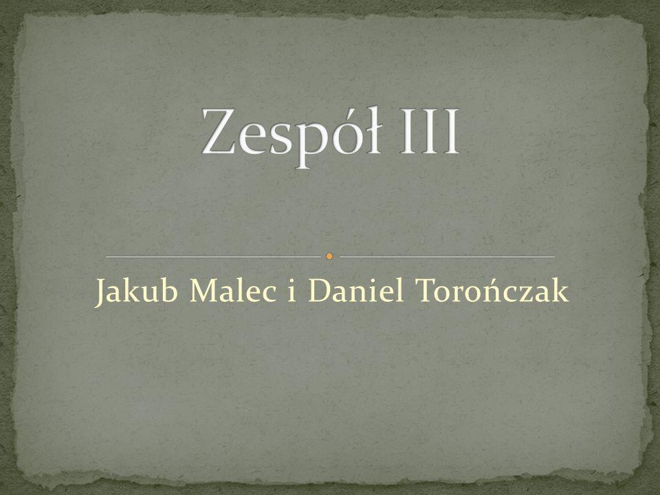 Jakub Malec i Daniel Torończak