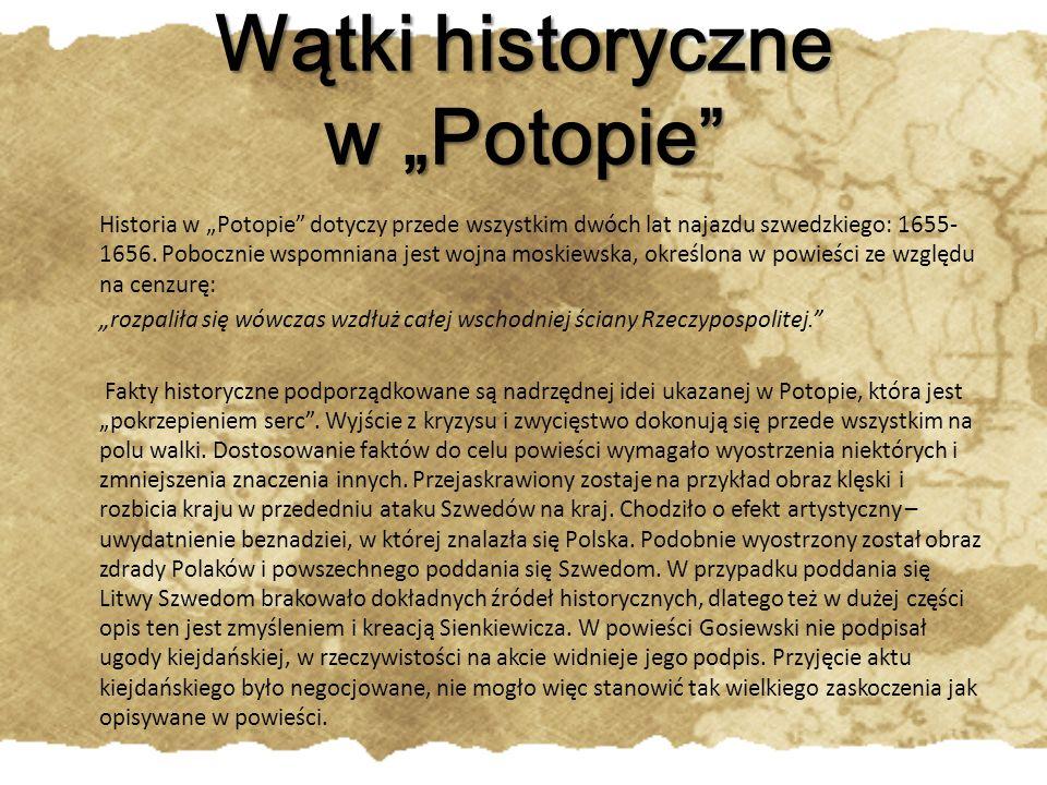 Wiadomo też, że wojsko nie zbuntowało się przeciwko Radziwiłłowi w trakcie uczty, ale znacznie później – w połowie września.