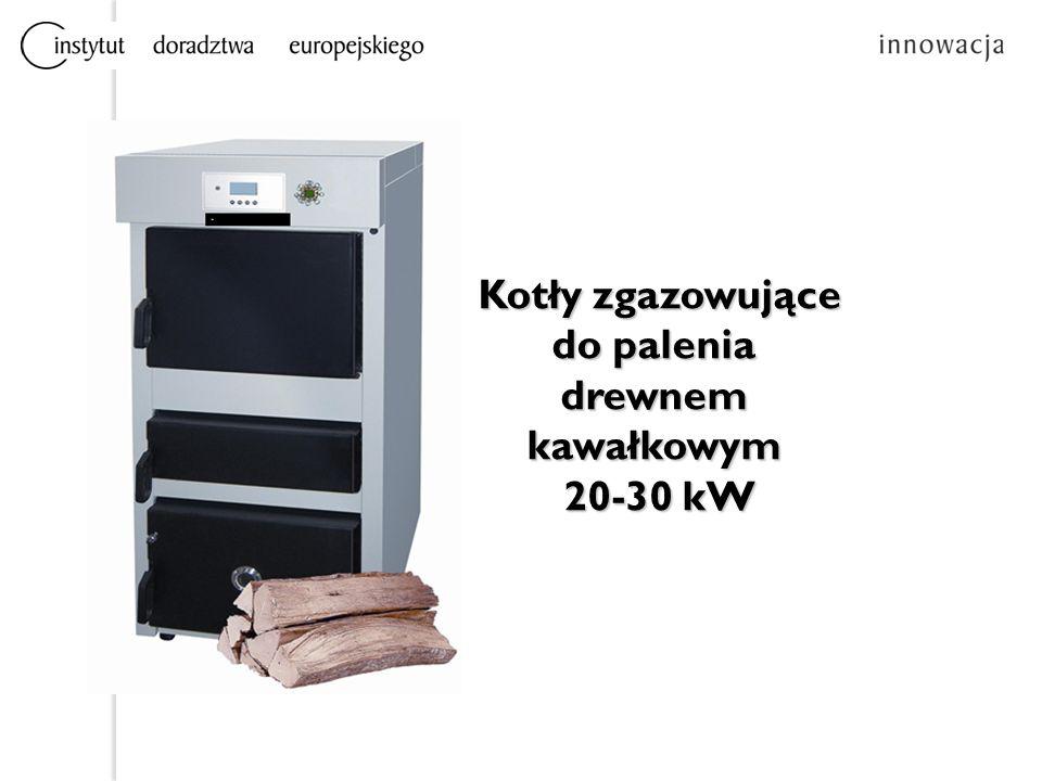 Kotły zgazowujące do palenia drewnem kawałkowym Kotły zgazowujące do palenia drewnem kawałkowym 20-30 kW 20-30 kW