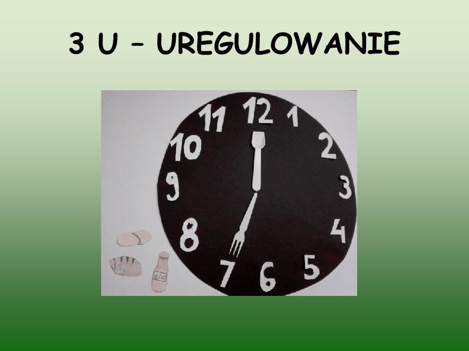 3 U – UREGULOWANIE