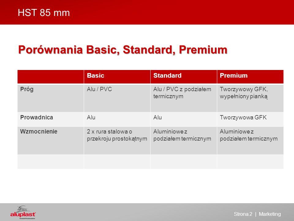HST 85 mm - BASIC Strona 3 | Marketing