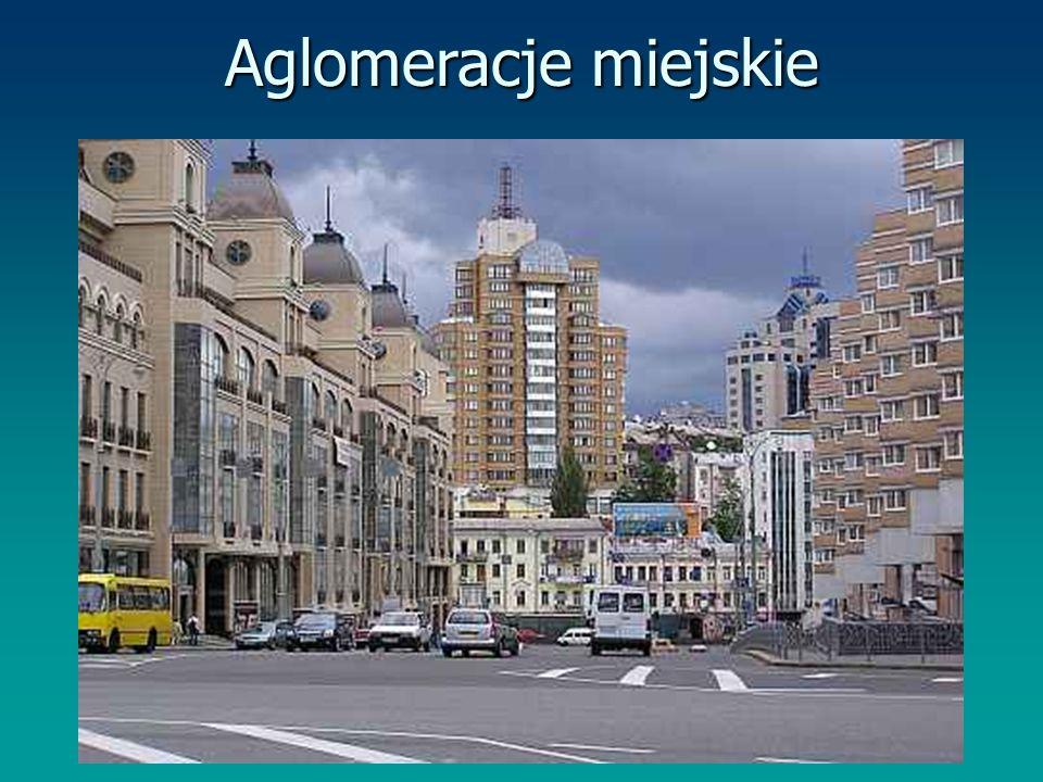 Aglomeracje miejskie