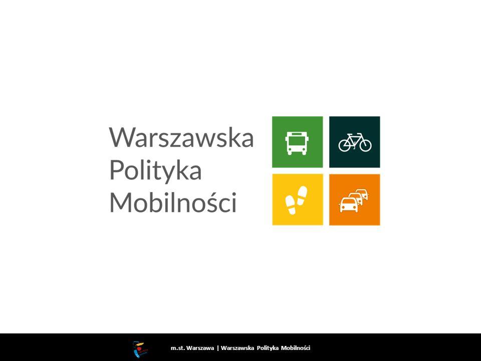 m.st. Warszawa   Warszawska Polityka Mobilności