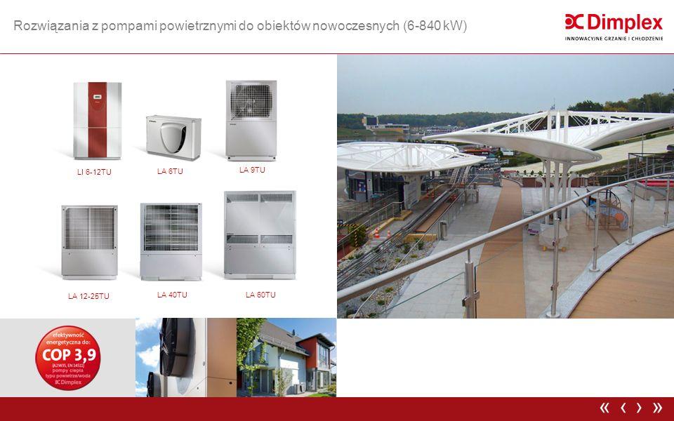 SIH 90TU Rozwiązania z pompami wysokotemperaturowymi do obiektów istniejących (90-1290kW) ›»‹«
