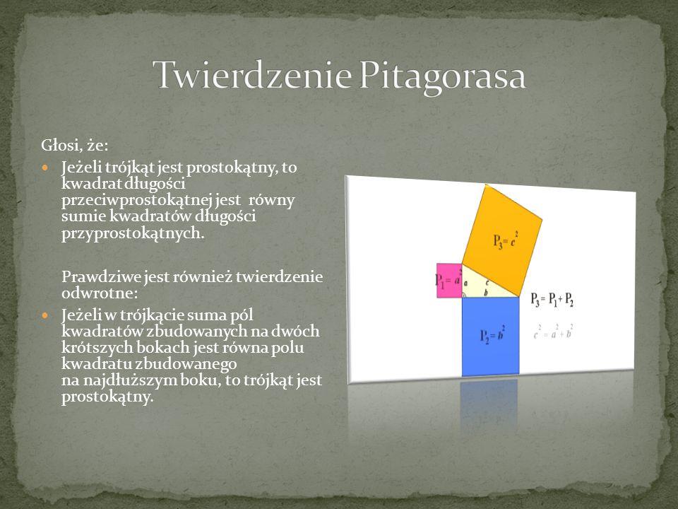 Jednym z najbardziej znanych i znaczących osiągnięć szkoły pitagorejskiej jest twierdzenie Pitagorasa.