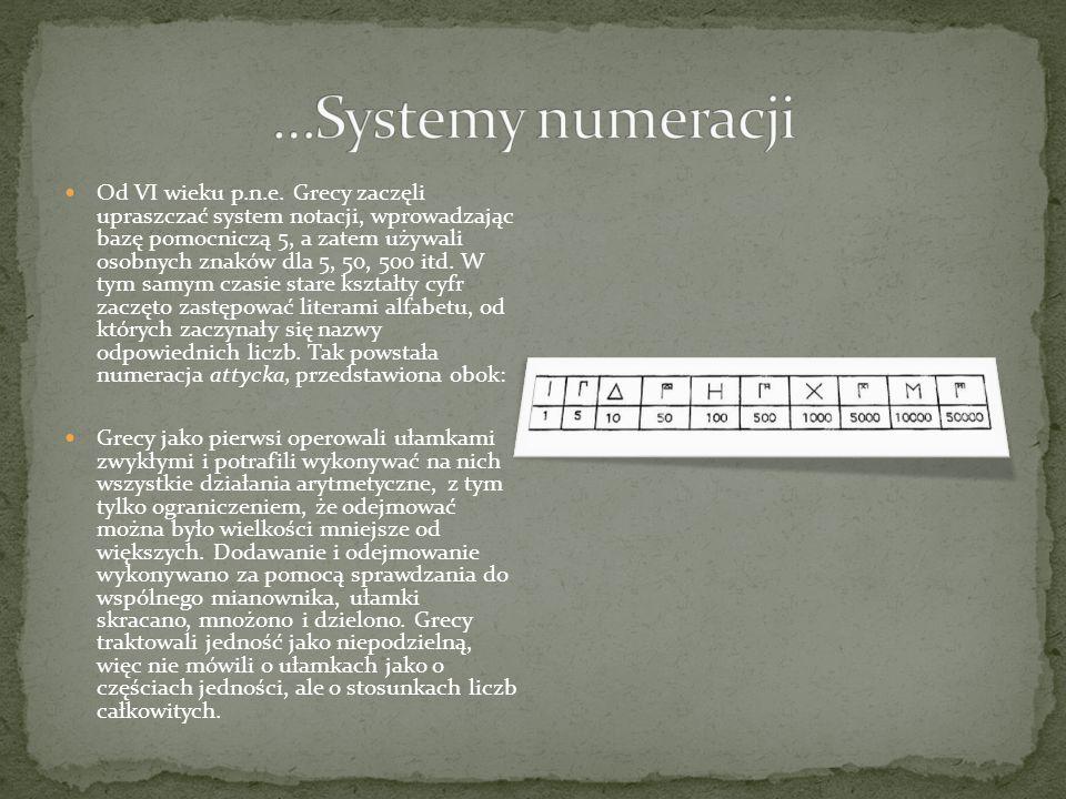 Zasada zapisu: powtarzamy odpowiednią ilość razy symbole oznaczające kolejne potęgi 10.
