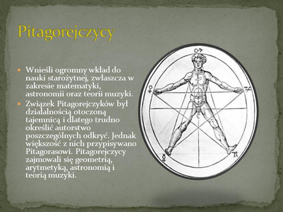 Matematyka grecka była bardziej wyrafinowana od osiągnięć wcześniejszych kultur.