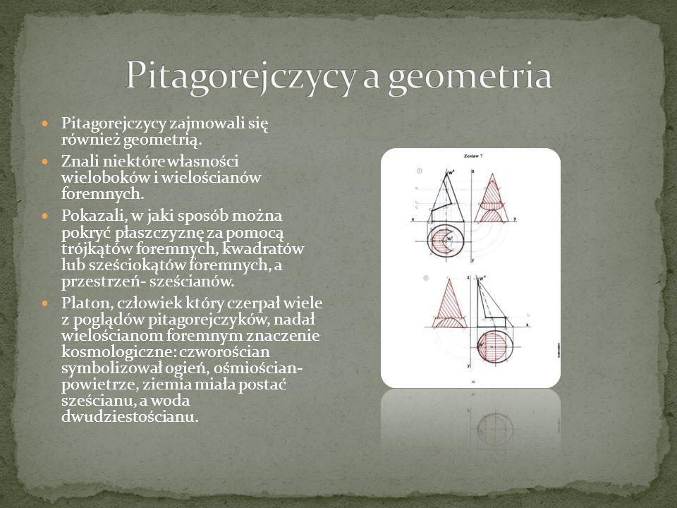 Pitagorejczycy jako pierwsi zwrócili uwagę na prawa ich podzielności.