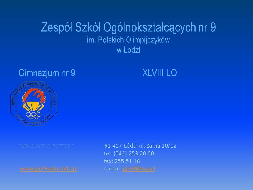 Współpracujemy z: - Ośrodkiem Edukacji i Kultury Ekologicznej, - Uniwersytetem Łódzkim, - Uniwersytetem Medycznym, -Instytutem Europejskim - Planetarium i Obserwatorium Astronomicznym w Łodzi